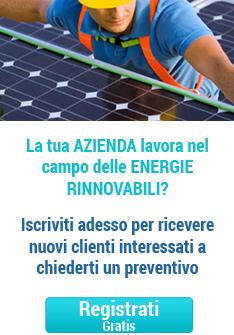 registrazione aziende fotovoltaico sul web