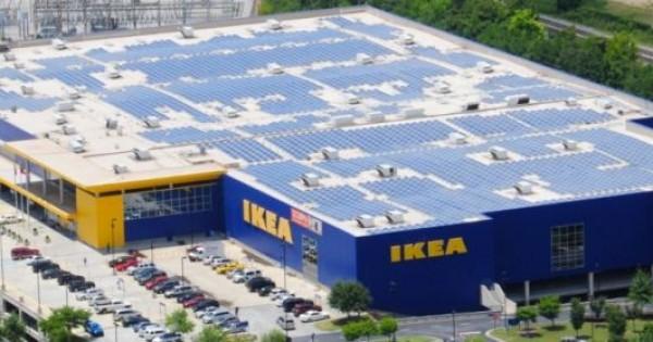 Ikea vende pannelli fotovoltaici in gran bretagna for Sedi ikea italia