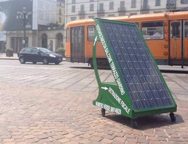 Pyppy, l'impianto fotovoltaico stand alone installabile nel balcone