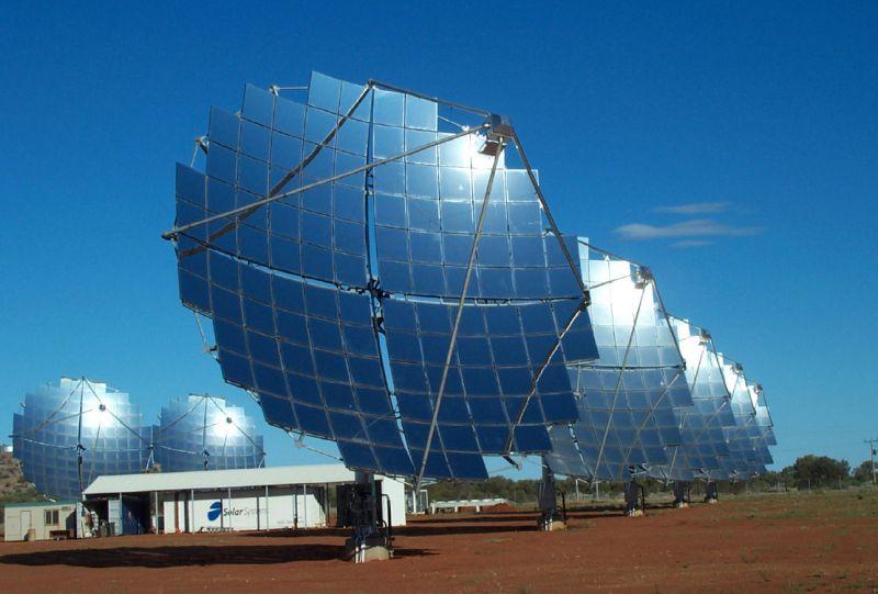Pannello Solare A Concentrazione Definizione : Soltess la nuova frontiera del solare termodinamico a
