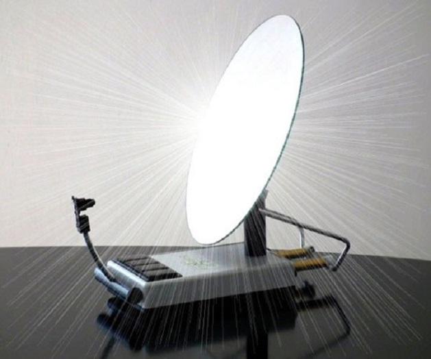 L 39 impianto solare sunny bot segue e orienta i raggi - Specchi riflettenti luce solare ...