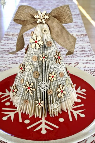 Decorating Ideas > Come Creare Decorazioni Natalizie E Addobbi Riciclando  ~ 153834_Christmas Decorations Ideas Made Out Of Paper