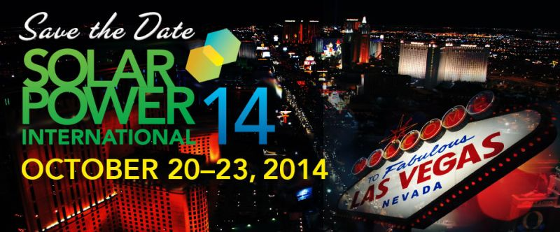 (Solar Power International 2013 a Las Vegas)