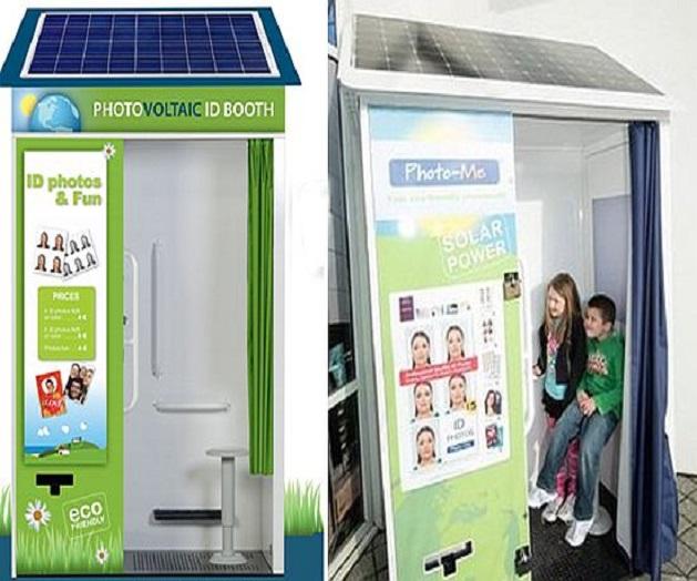 La cabina fotografica fotovoltaica che funziona for Progettazione passiva della cabina solare