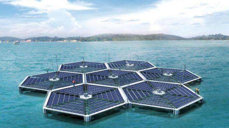 Fotovoltaico Spopolano Le Isole Galleggianti