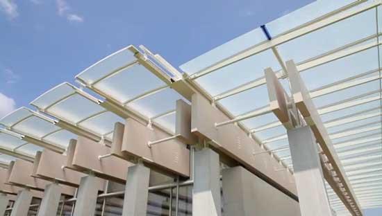 Al Kimbell Art Museum Il Fotovoltaico Di Renzo Piano