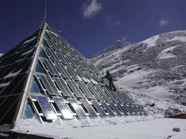 Il Fotovoltaico Sulle Vette Del Mondo La Piramide Sul