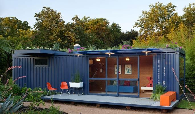 Esterno Di Una Casa : In brasile nasce la casa container ecologica