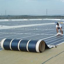 l 39 impianto fotovoltaico in pellicole flessibili. Black Bedroom Furniture Sets. Home Design Ideas