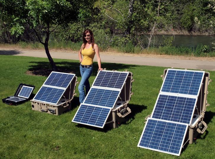 Pannello Solare Portatile Per Pc : Fotovoltaico portatile dai sistemi da balcone ai