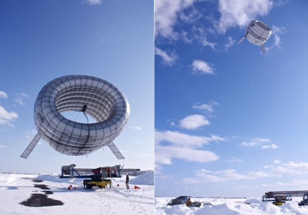 Airborne Wind Turbine
