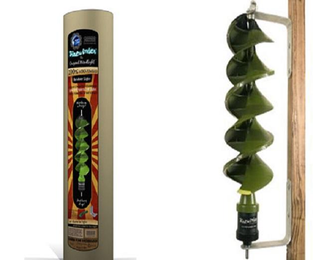 La lampada eolica Firewinder, caratteristiche e funzionamento