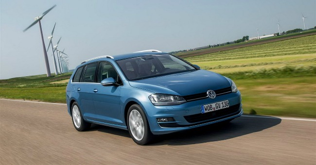 Salone dell'Automobile di Ginevra 2014_Volkswagen Golf Variant TGI BlueMotion