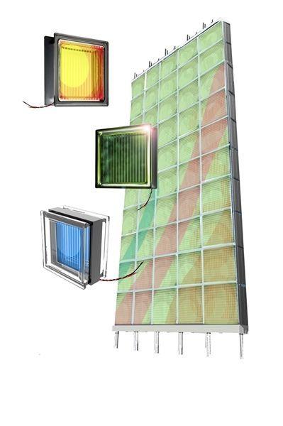 Tutta la forza del vetro mattone fotovoltaico sviluppato for Costo del mattone da costruire