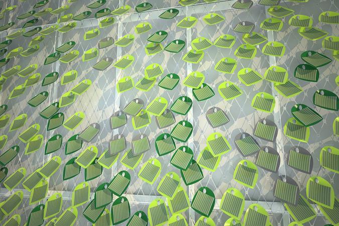 Un Edera Fotovoltaica Per Pareti Soluzioni Solari Bio