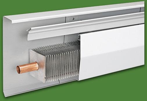 Sistemi di riscaldamento radianti a battiscopa un nuovo for Riscaldamento battiscopa