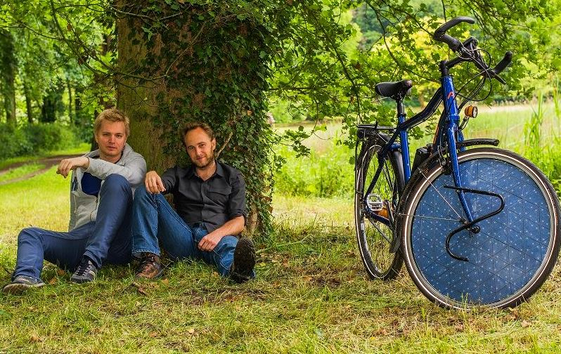 Pannello Solare Bici : Dutch solar cycle la bici elettrica con i pannelli solari
