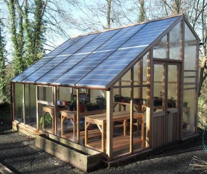 Cosa sono le serre fotovoltaiche for Costruire serra legno