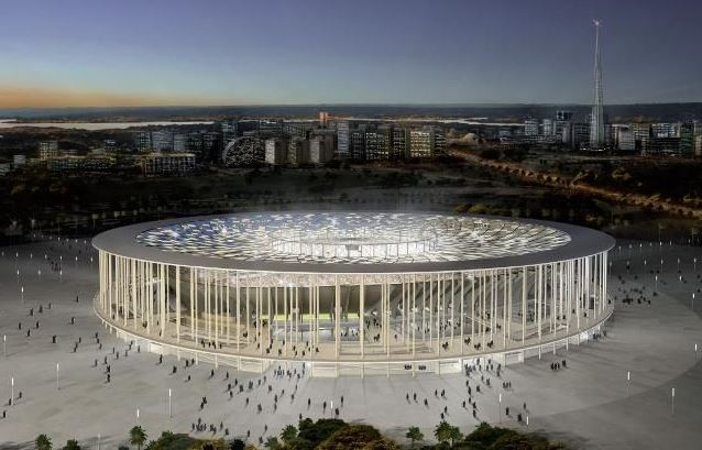 eco-stadio national stadium di brasilia