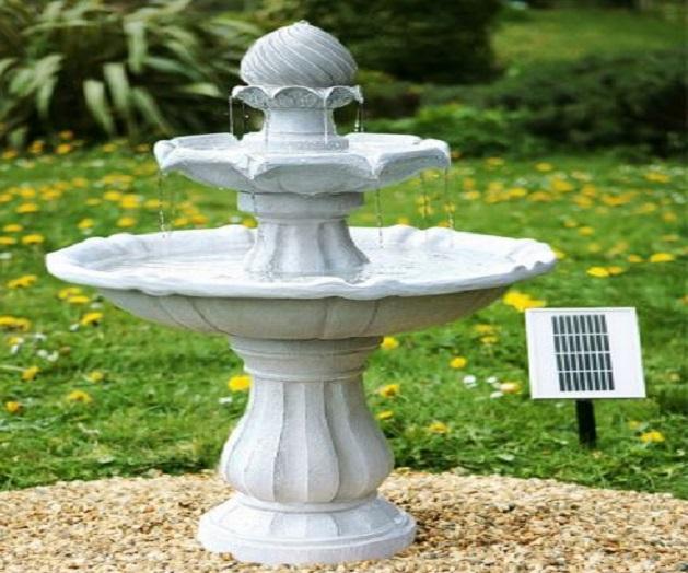 Le fontane solari da giardino, caratteristiche di alcuni modelli