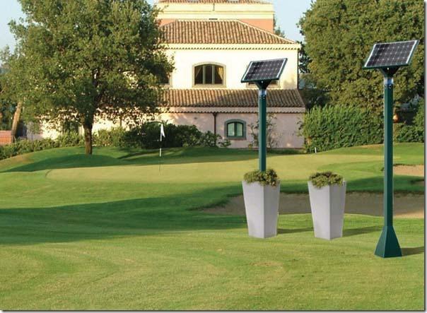 Lampioni solari o fotovoltaici funzionamento tipologie - Lampioni giardino ...