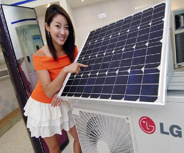 Ventilatore Con Pannello Solare : La climatizzazione diventa fotovoltaica il condizionatore