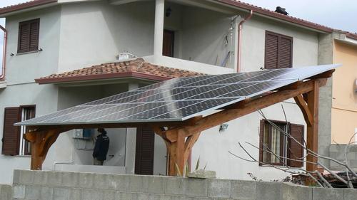 Cos 39 la pergola fotovoltaica - Alzare il tetto di casa ...