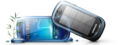 Samsung Blue Earth: pannelli solari e materiale riciclato