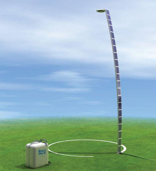 Docce solari o docce fotovoltaiche: funzionano senza corrente grazie all'energia solare