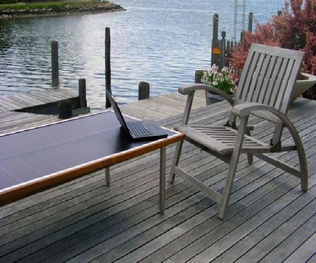 Tavoli Da Giardino Risparmio Casa : Il tavolo da giardino fotovoltaico