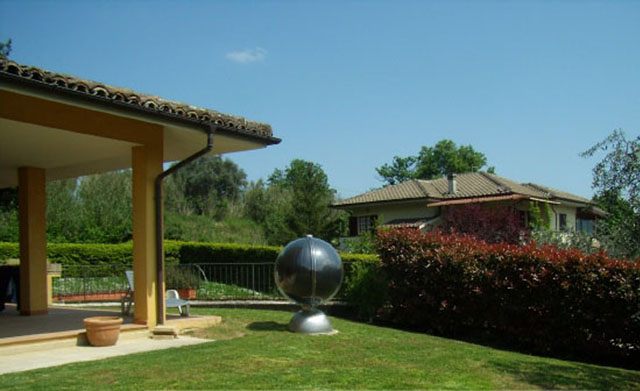 panel solar térmico esférico